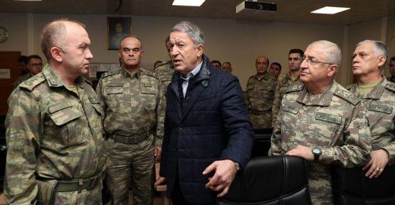 Milli Savunma Bakanı Hulusi Akar: TSK'da izinler iptal
