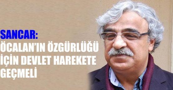 Mithat Sancar: 'Öcalan'ın özgürlüğü için devlet harekete geçmeli'