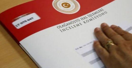 OHAL Komisyonu'ndan 1300 işe iade kararı