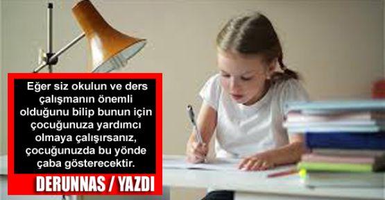Okul Başarısı - Ders Çalışma