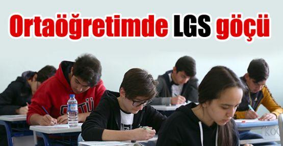 Ortaöğretimde LGS göçü
