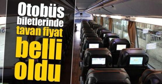Otobüs biletinde tavan ücret 500 lira oldu