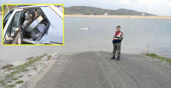 Otomobil gölete uçtu: 4 ölü, 1 kayıp