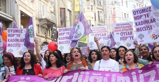 Oyumuz HDP'ye kadınlar Meclis'e