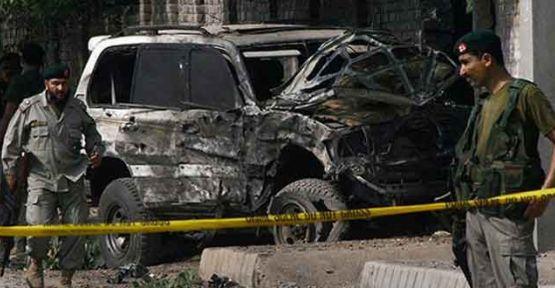 Pakistan'da patlama, 10 ölü