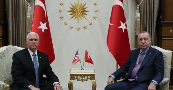 Mike Pence: YPG 5 gün içinde güvenli bölgeden çekilecek
