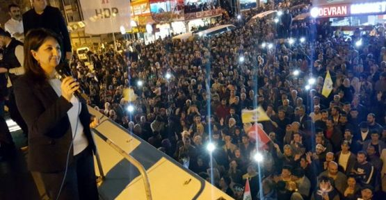 Pervin Buldan: Demokrasi güçleri ile İstanbul'u kazanmaya geldik