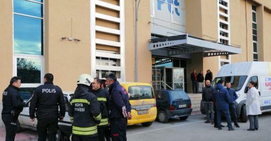 PTT'de jandarma kargosu patladı