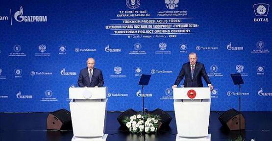 Putin: Türkiye'yle işbirliğimiz gelişiyor