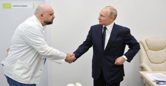 Putin'e hastane gezdiren doktor koronaya yakalandı