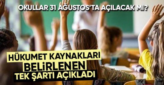 Reuters: Türkiye'de tüm okullar 31 Ağustos'ta açılmayabilir