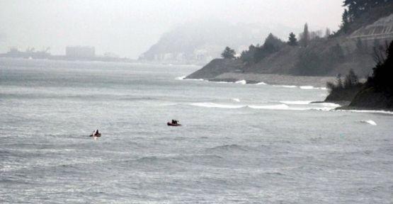 Rumelifeneri'nde balıkçı teknesi ile tanker çarpıştı