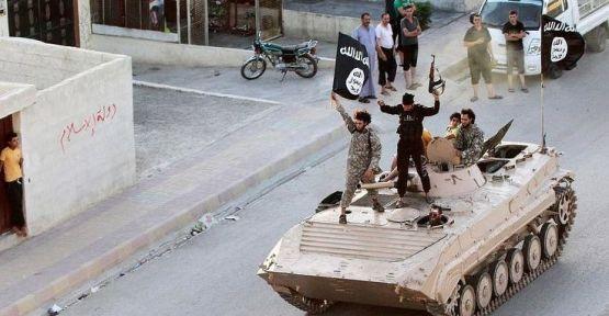 Rus askerleri ilk kez IŞİD'in eski 'başkenti' Rakka'da