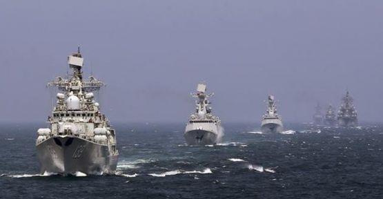 Rus gemileri Suriye'yi terk etti