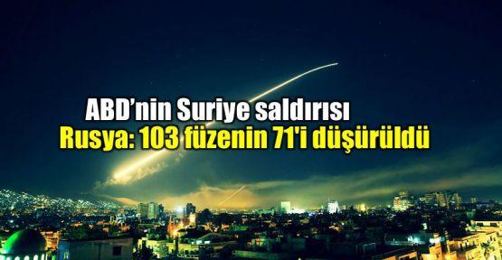 Rusya: 103 füzenin 71'i önlendi