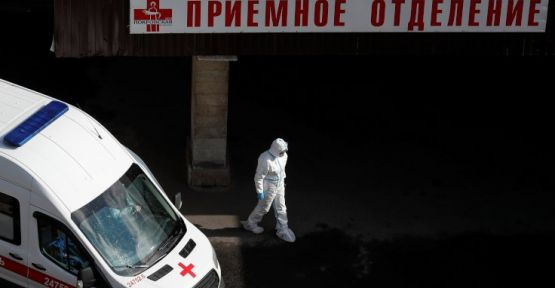Rusya'da yeni rekor: Vaka sayısı 100 bini geçti