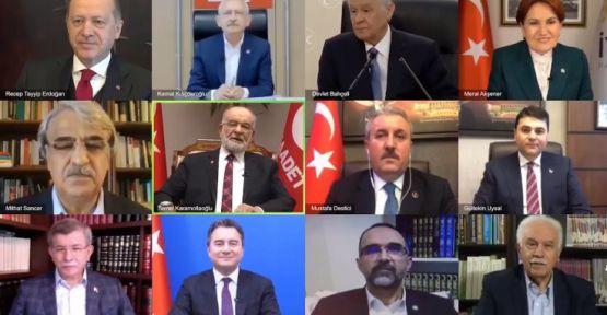 SAADET'ten parti liderlerini bir arada gösteren videoyla birlik çağrısı