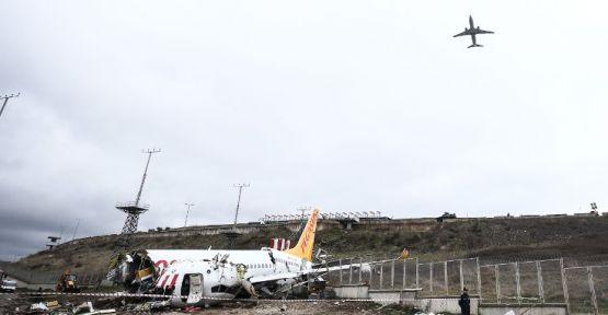 Sabiha Gökçen'de kaza yapan uçağın pilotları hakkında gözaltı kararı