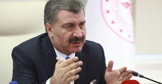 Sağlık Bakanı Koca: '76 kişi daha korona virüsünden vefat etti'