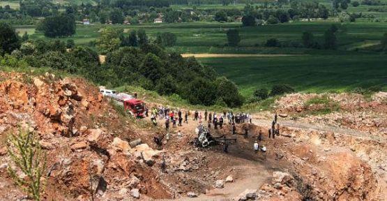 Sakarya'da, havai fişek yüklü kamyonda patlama: 3 ölü, 6 yaralı