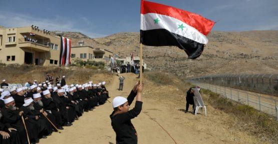 Şam'dan Trump'a kınama: Golan Tepeleri'ni geri alacağız