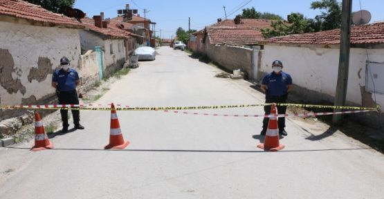 Şanlıurfa'da 149 adres karantinaya alındı