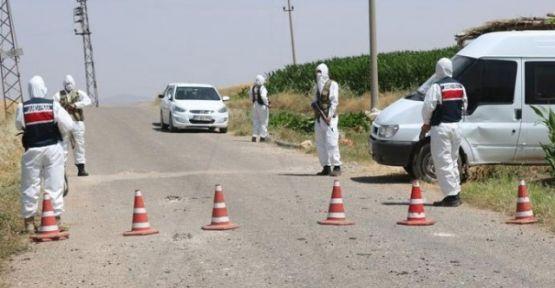 Şanlıurfa'da 79 ev karantinaya alındı