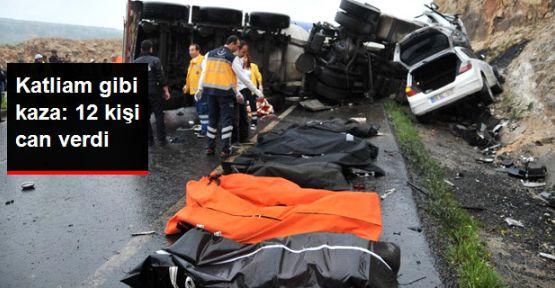 Şanlıurfa'da zincirleme kaza!.. 12 ölü!