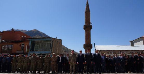 Şemdinli'de 19 Eylül Gaziler Günü kutlandı
