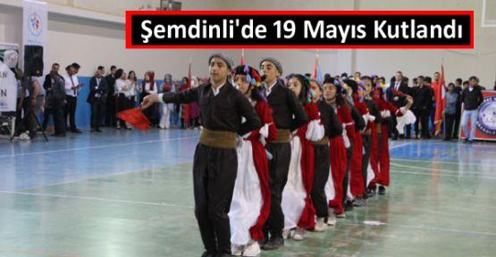 Şemdinli'de 19 Mayıs Kutlandı