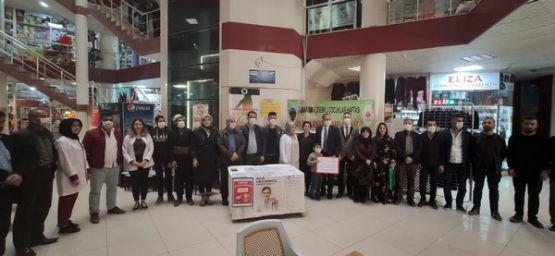 Şemdinli'de 2-8 Kasım Lösemili Çocuklar Haftası etkinliği