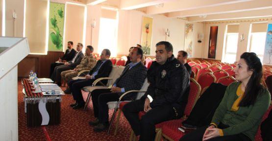 Şemdinli'de koronavirüs toplantısı