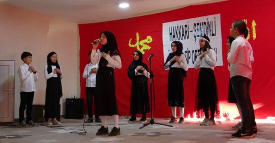 Şemdinli'de 'Mevlid-i Nebi Haftası' Etkinliği