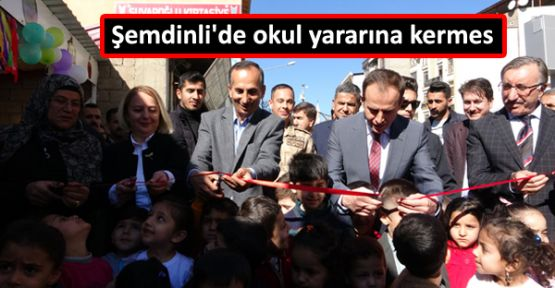 Şemdinli'de okul yararına kermes
