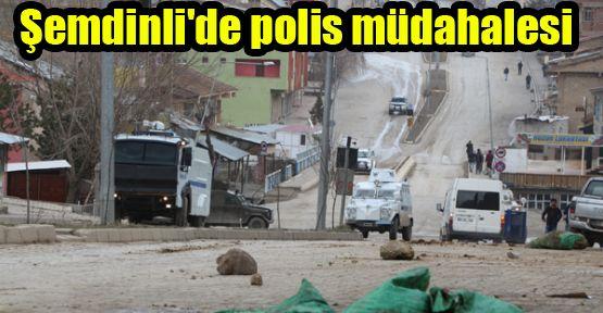 Şemdinli'de polis müdahalesi