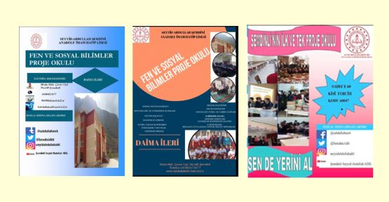 Şemdinli'de proje okulu açılıyor