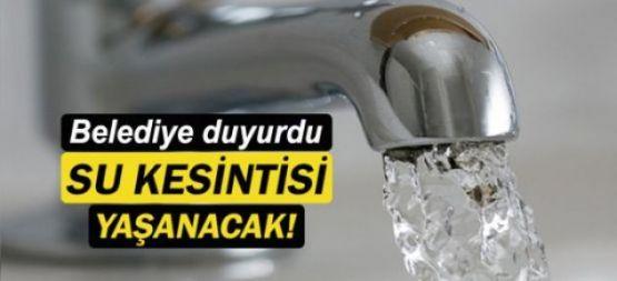 Şemdinli'de su kesintisi yaşanacak