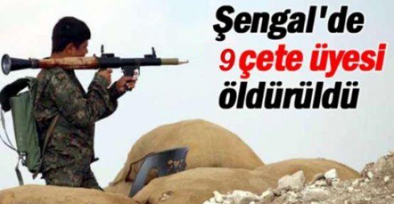 Şengal'de 9 çete öldürüldü