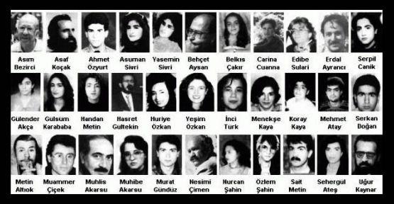 Sivas katliamı yıl dönümü etkinliklerinin programı açıklandı