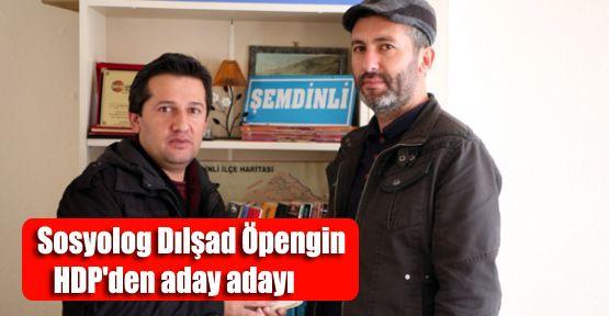 Sosyolog Dılşad Öpengin HDP'den aday adayı