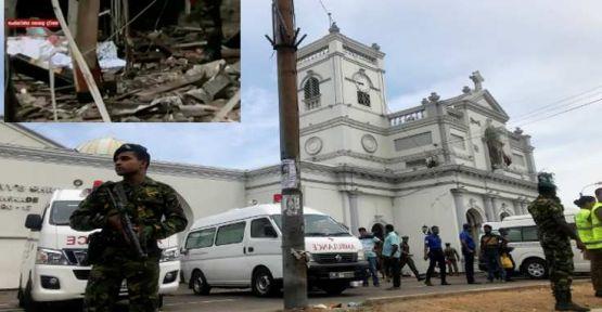 Sri Lanka'da arka arkaya 8 patlama: 207 ölü