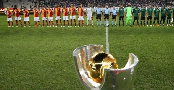 Süper Kupa finali 7 Ağustos'ta oynanacak