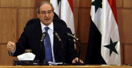 Suriye Dışişleri Bakan Yardımcısı Faysal Mikdad