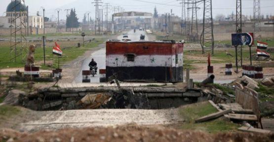 Suriye ordusu İdlib'de insani koridor açtı