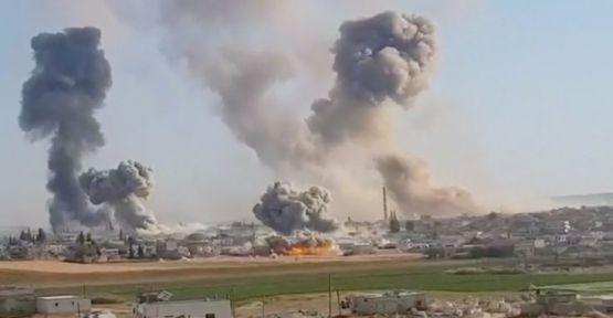Suriye ordusu İdlib'de Türkiye'ye ait bir gözlem noktasına daha yaklaştı