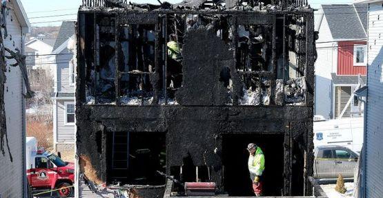 Suriyeli 7 çocuk yangında hayatını kaybetti