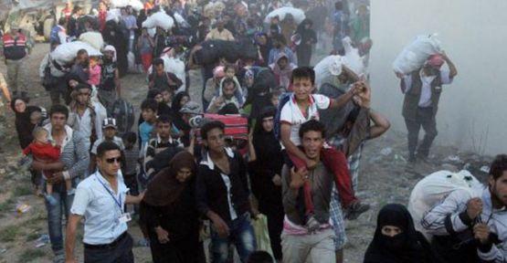Suriyelilerin geçişi başladı!