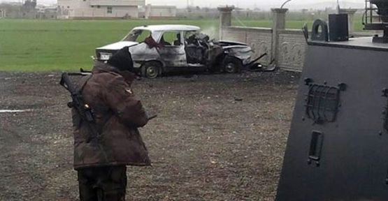 Suruç'ta patlama: 1'i polis 3 yaralı