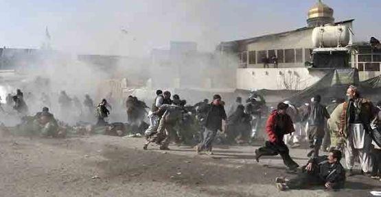 Taliban Afgan parlamentosunu bastı