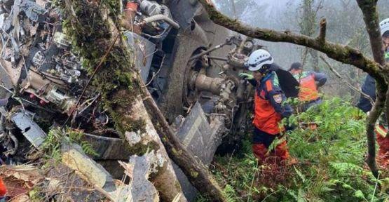 Tayvan'da helikopter düştü: Ölenler arasında genelkurmay başkanı da var